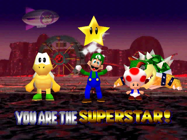 Mario Party 2 - FINALY i beat BOWSER - User Screenshot