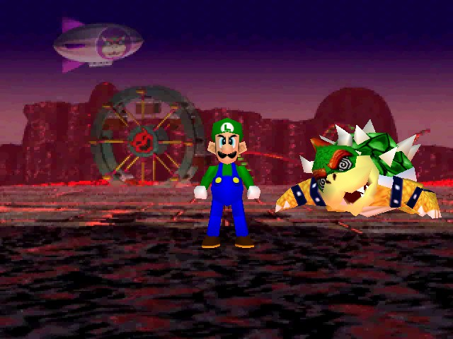 Mario Party 2 - Im a Luigi number #1 - User Screenshot