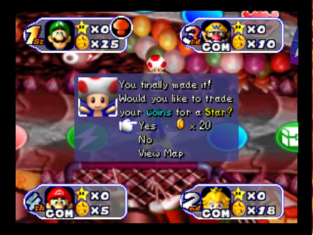 Mario Party 2 - Bowser land - star in two turns - User Screenshot