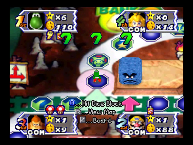 Mario Party 3 - lucky 7 jackpot :D - User Screenshot