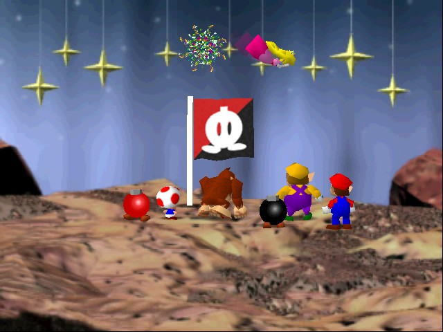 Mario Party - Bye Bye Peach - User Screenshot