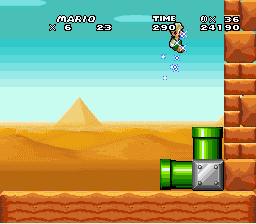 Super Mario World - Misc wrong game -  - User Screenshot