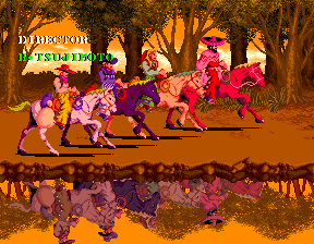 Sunset Riders (4 Players ver EAC) - Ending  -  - User Screenshot