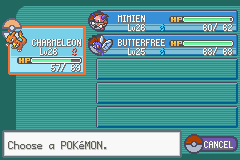 Pokemon Fire Red - Introduction  - my team - User Screenshot
