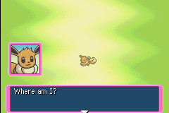 Pokemon Mystery Dungeon - Red Rescue Team - Cut-Scene  - That is what i am wondering. - User Screenshot