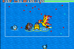 Pokemon Mystery Dungeon - Red Rescue Team - Battle  - WTF - User Screenshot