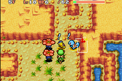 Pokemon Mystery Dungeon - Red Rescue Team - Battle  - well, where shocked - User Screenshot