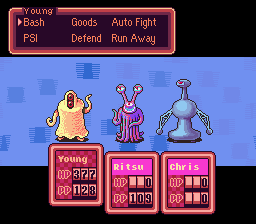 Earthbound - Battle  - This will end well.... - User Screenshot
