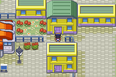 Pokemon Shiny Gold - Location Goldenrod City - Here you can find a Squirtle Bottle! :) - User Screenshot