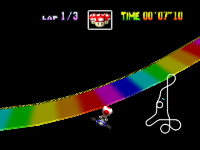 Mario Kart 64 - Level  - YES!!!!!! - User Screenshot