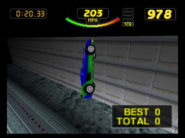 Rush 2 - Extreme Racing USA - Wheeeeeeeeee!! - User Screenshot