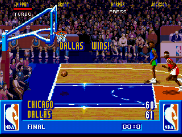 NBA Jam - Misc Lost - Losing on a 7/8th shot, hi again NBA Jam - User Screenshot