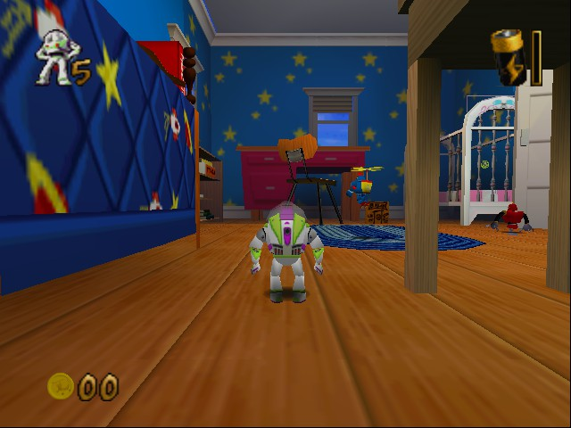 Toy Story 2 - Level  - andy house with buzz light year. - User Screenshot