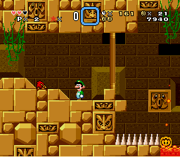 Luigi and the Island of Mystery - Hi Fire Sonic! - User Screenshot