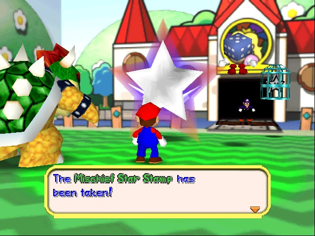 Mario Party 3 - Cut-Scene  - Why are you caging something not alive? - User Screenshot