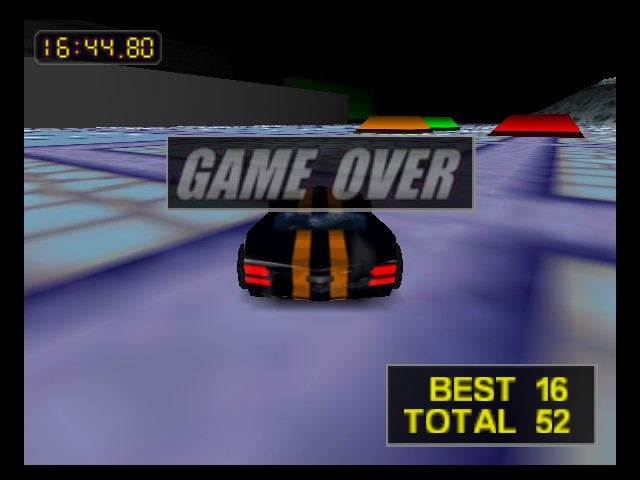 Rush 2 - Extreme Racing USA - Level  - haters gonna hate - User Screenshot