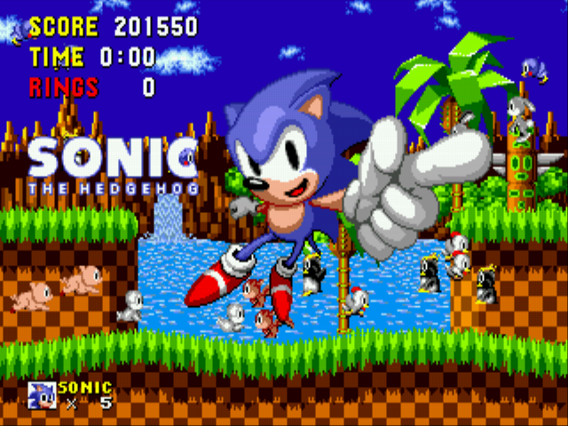 Sonic the Hedgehog - Ending  - First run. - User Screenshot