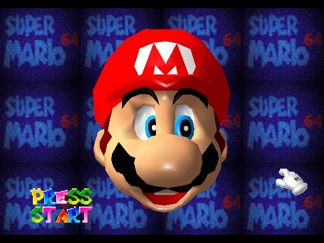 Super Mario 64 - Introduction  - Mario: oppps worng game - User Screenshot