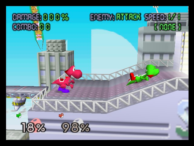 Super Smash Bros. - Battle  - K.O - User Screenshot