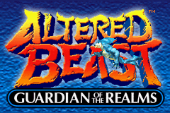 Altered Beast - Guardian of the Realms - Menus Title -  - User Screenshot