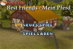 Pferd & Pony - Best Friends - Mein Pferd - Menus Title Screen -  - User Screenshot