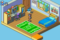 Rockman EXE 6 - Dennoujuu Grega - Location  - Home - User Screenshot
