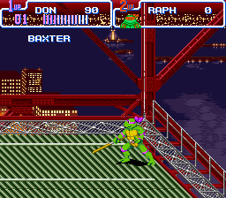 Teenage Mutant Ninja Turtles IV - Turtles in Time - Level  -  - User Screenshot