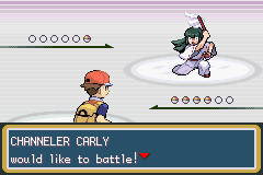 Pokemon Fire Red - Battle  - How can possessed people act like trainers? - User Screenshot