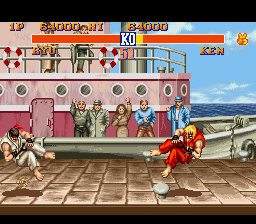 Street Fighter II - The World Warrior - hadouken duelin - User Screenshot