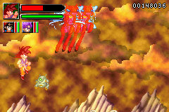 Dragon Ball GT - Transformation - Battle  - Super Saiyan God - User Screenshot