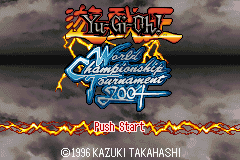 Yu-Gi-Oh! - World Championship Tournament 2004 -  - User Screenshot