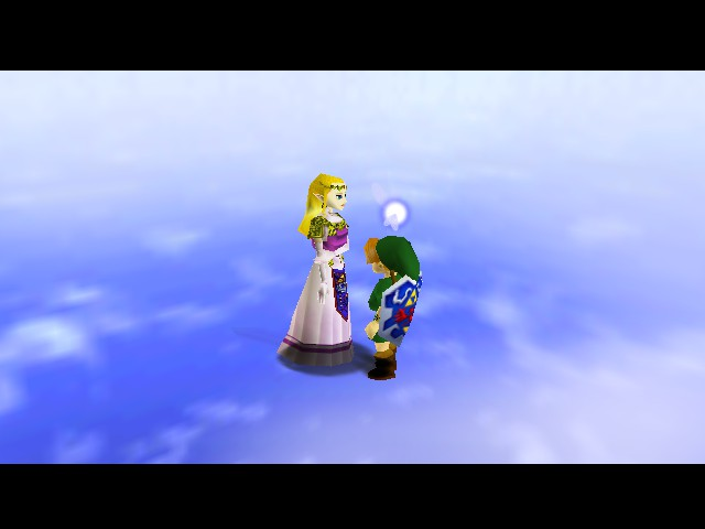 The Legend of Zelda - Ocarina of Time (Debug Edition) - Cut-Scene  - I think I was supposed to be Adult - User Screenshot