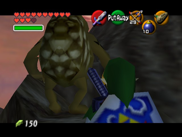 The Legend of Zelda - Ocarina of Time (Debug Edition) - Misc Oh my GOD! - Oh my GOD! What is that thing - User Screenshot