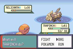 Pokemon Emerald - Battle  - :D - User Screenshot