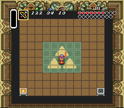 The Legend of Zelda - A Link to the Past - Battle  - Link defeated Ganon - User Screenshot