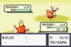 Pokemon Emerald - Battle  - Well this ought to be interesting - User Screenshot