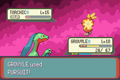 Pokemon Emerald - Battle  - TAKE THIS! - User Screenshot
