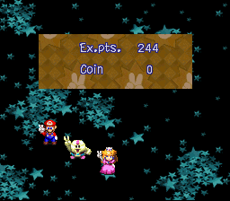 Super Mario RPG - Legend of the Seven Stars - Battle  - I defeated Culex! :D - User Screenshot