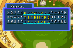 Pokemon Mystery Dungeon - Red Rescue Team - Ending  - the password for thank  - User Screenshot