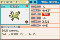 my shiny mankey