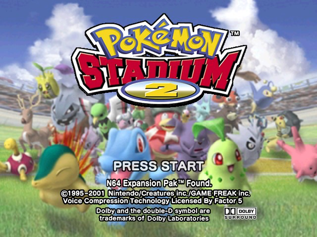 Pokemon Stadium 2 - Introduction  - Pokemon Attack! Aghh! - User Screenshot