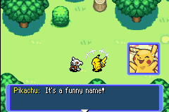 Pokemon Mystery Dungeon - Red Rescue Team - Cut-Scene  - How is Zachary funny?! - User Screenshot