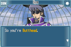 Yu-Gi-Oh! GX - Duel Academy - Character Profile Butthead - Yes, sir. - User Screenshot