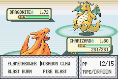 Pokemon Fire Red 3 in 1 - brother versus brother - User Screenshot