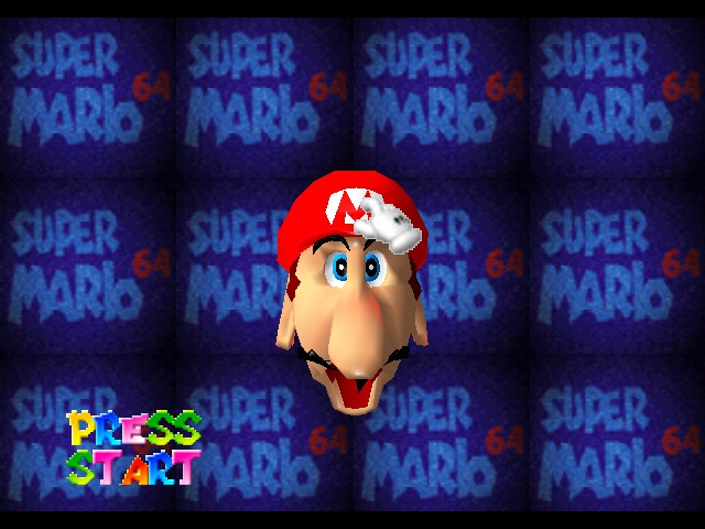 Super Mario 64 - Introduction  - LOL XDXDXD - User Screenshot
