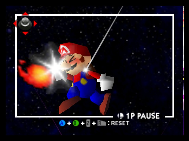 Super Smash Bros. - Character Profile Fire Ball - Mario: Ouch I think I BURNED My Hand - User Screenshot