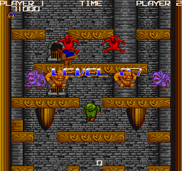 The four main types of enemies shown here