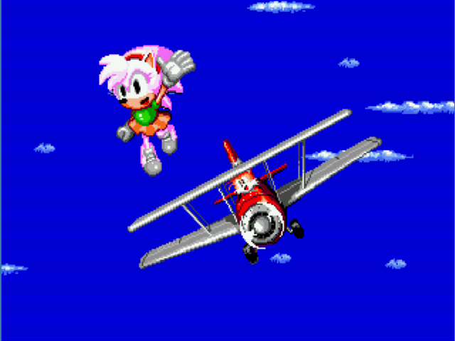 Amy Rose in Sonic the Hedgehog 2 - Ending  - Super Amy! - User Screenshot