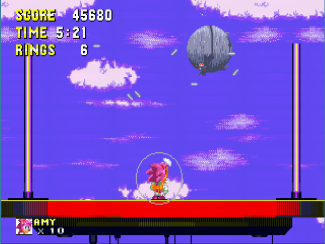 Sonic 3 & Amy Rose - Cut-Scene  - I can see the Death Star from my house - User Screenshot