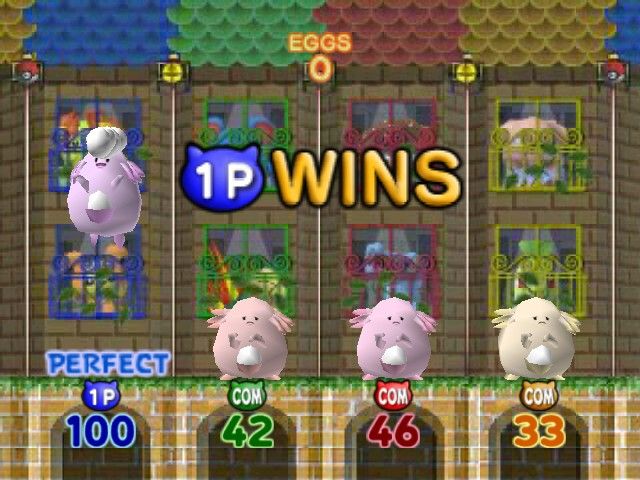 Pokemon Stadium 2 - Mini-Game  - lol whooo chanseyyyy - User Screenshot
